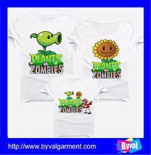 Family t shirt custom printing 100% cotton dri fit soft t-shirts