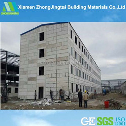 Made in China light weight sandwich panel prefab home manufacturers