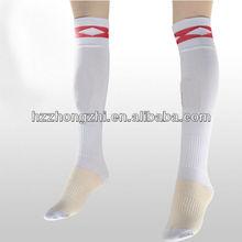 la costumbre de la rodilla de alta del tubo hombres calcetín de élite