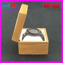 2015 New Retro Date Wood Bamboo Quartz Watches