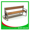 Solid Wood Corner Bench Benches For Public Park antique style