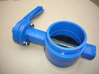 BW0530 Grooved End Butterfly Valve