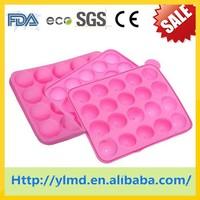 Silicone Plastic Mini Chocolate Mold/Candy Ice Tray