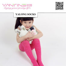 tights YL704 girl and kids colored cotton tights pantyhose 0427