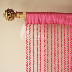 Spiral Line Brunout String Curtain