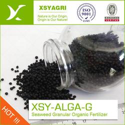 seaweed organic granular fertilizer, seaweed granular fertilizer compound with NPK