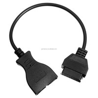 2015 For GM 12 Pin 12Pin OBD 2 Connector Adapter Gm12 pin obd2 obdii Auto Car Accessories Diagnostic Extension Cable 16 Pin