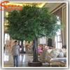 2015 newly fiber glass decorative plastic tree large artificial decorative tree of plastic tree