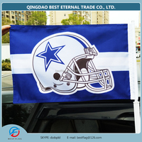 BEST FLAG -custom NFL car flag Dallas Cowboys