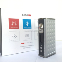 High wattage 165w eiffel t1 box vapor mod temperature control vape box mod wireless charger