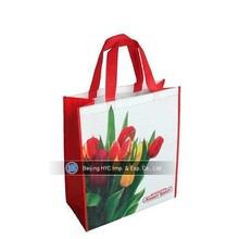 Assorted Colors Non-woven Reusable Kids Carrying Shopping Grocery Tote Bag for Party Favor