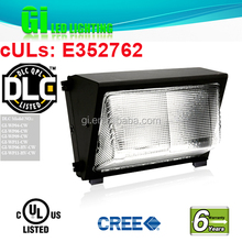 UL DLC listed 6 years warranty Mini Polycarbonate Lens Led Wall Pack