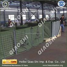Hesco Barrier Military Defensive Wall/Gabion Box Stone Cages Retaining Wall