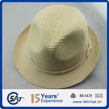Beautiful fedora straw hat