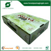 FRUIT PACKAGING AND SHIPPING BOX WITH PLASTIC HANDLE