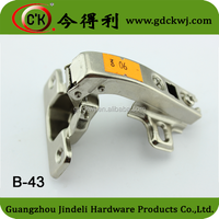 Special Degree Opening Angle corner concealed Hinge for Cabinet Door B-43