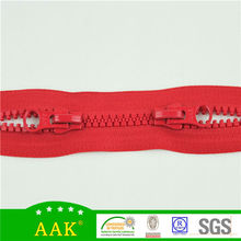 Special for Coats & sports bags 8# delrin two way open end zipper
