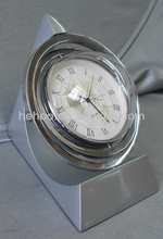 Promotional glass globe clock