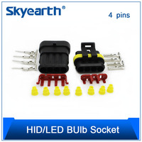 4 Pin Connector One Set Wholesale For Car Hid
