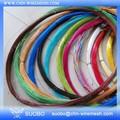 Plástico de alta resistencia recubierto China, alambre de púas Revestido de bobina de plástico Swg Galvanizado Ce del alambre de púas PVC recubierto de alambre de hierro