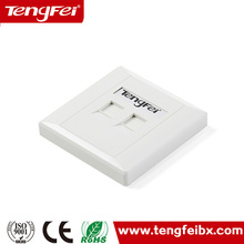best selling in china face plate network faceplate rj45 wall outlet network information outlet