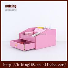 wooden storage box remote control holder pen holder# HX-4003