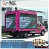 Latest technology express trailer mounted led truck display advertising/led display billboard