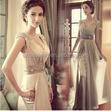 Mouse over image to zoom 2014-New-Chiffon-Bridesmaid-Evening-Formal-Party Ball Gown Prom-Dress sexy long evening dress pricess