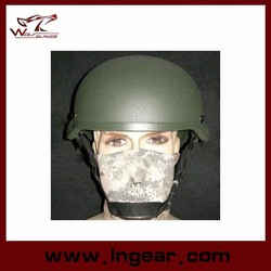 Airsoft MICH 2002 Glass Fiber Helmet tactical outdoor paintball helmet