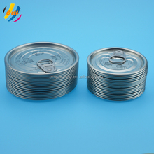 easy open coated metal cap for round cans