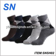 good quality winter custome sock for men