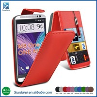 New model case For HTC one M8S top flip PU leather cell phone Cover case Best price