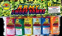 Army Smoke Bombs/tubes