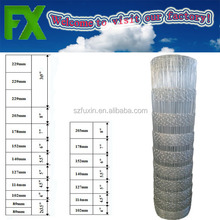 Different types of mesh cheap metal farm yard fencing