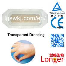 شفافية ماء التموين الجراحية الطبية الضمادة