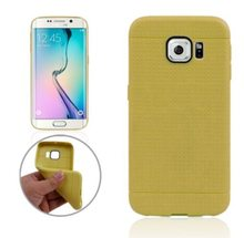 Wholesale Honeycomb Surface TPU Protective Case for Samsung Galaxy S6 Edge Cover