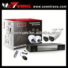 WETRANS IPK2004M-720P 4CH NVR 1.0 megapixel ip camera diy nvr kits