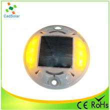 colorful with red/blue/white/yellow/green optional led light solar pavement marker