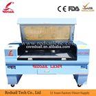 Têxteis laser de couro máquina de corte/casamento convite cartões de gravação a laser máquina de corte