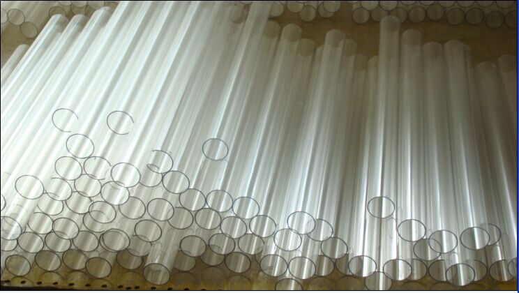 Extrud dur polycarbonate transparent tube pour effet de for Tipi di tubi di plastica