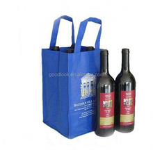 eco friendly christmas organza wine bag made in China