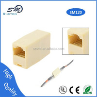 cat5e rj45 connector adapter/Female Cat5e Ethernet Network Connector Adapter