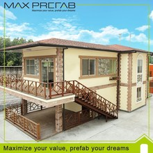 Low cost EPS cement compound board prefab house for sale