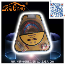 China maufacturer cable 8 GA car AMP WIRING KITS supplier
