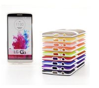 TPU Case Clear Cover Soft Gel Silicone Hybrid Impact Kickstand For LG G2