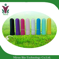 Wholesale blank nasal inhaler with High Quality Cotton Wicks