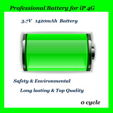 For Apple iPhone Series Battery 1420mAh Li-ion Battery Pack for iPhone 4G