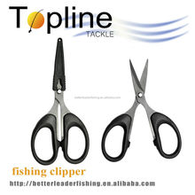 """4.8"""" stainless steel fishing line scissors , fish line cutter made in china"""
