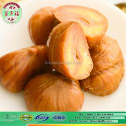 eating chinese organic snacks food frozen peeled roasted chestnut