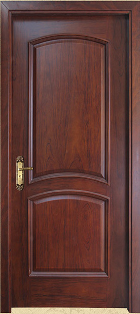 Luxury Design Hdf Material Teak Wood Door Design Main